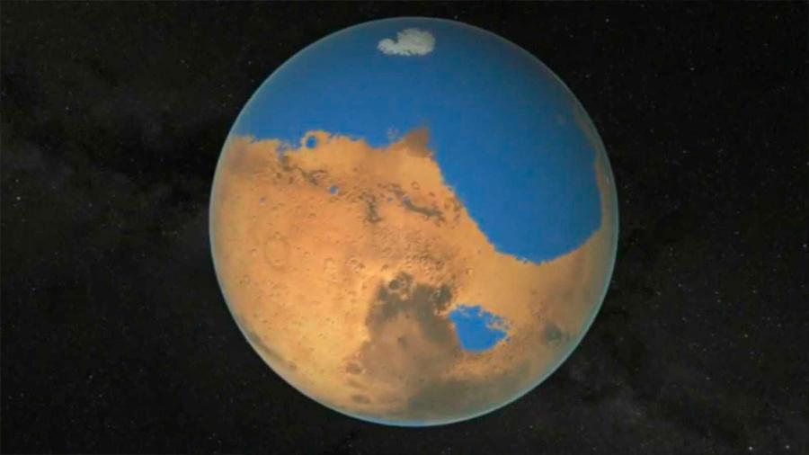 Descubren que el agua en Marte se evaporó hace 3,500 millones de años