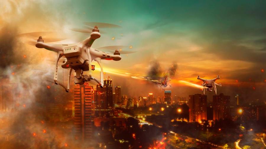 Los cazas de combate son cosas del pasado: los drones militares han tomado el relevo