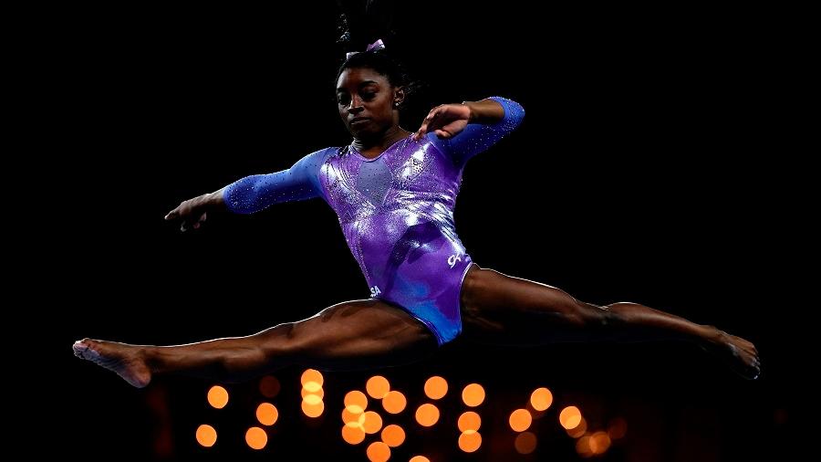 Los secretos del físico de Simone Biles y que la hacen la mejor gimnasta de la historia