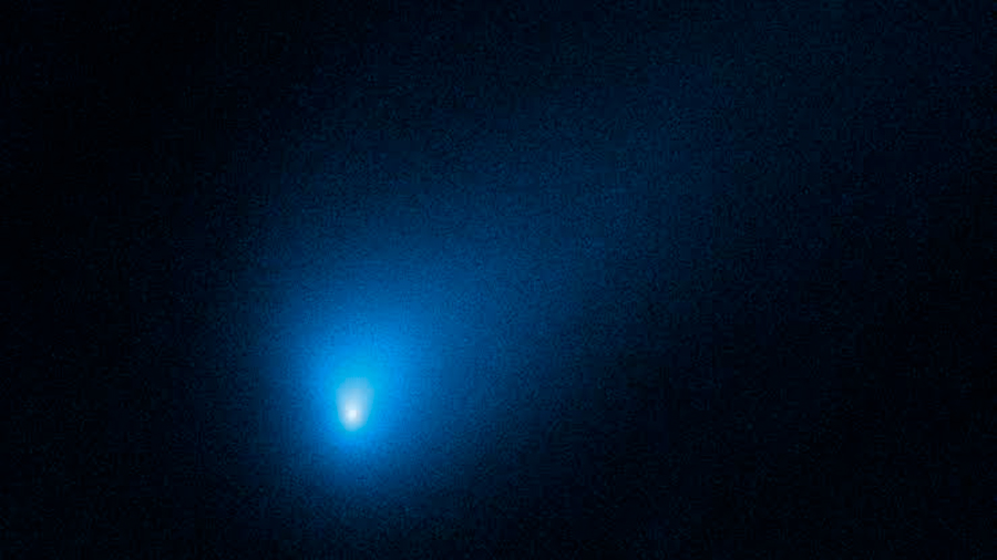 El telescopio Hubble toma la mejor vista del cometa interestelar Borisov
