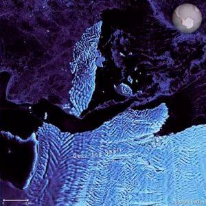 Un iceberg de 35 kilómetros se desprende en la Antártida Occidental