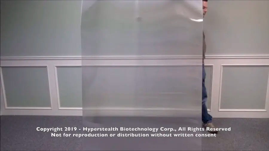 Crean supuesta capa de invisibilidad en Canadá