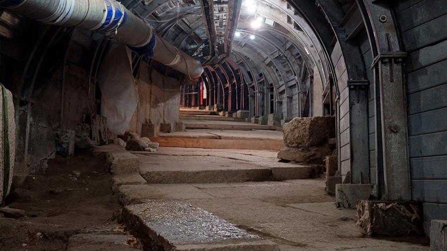 Arqueólogos encuentran una calle construida en la época de Poncio Pilato