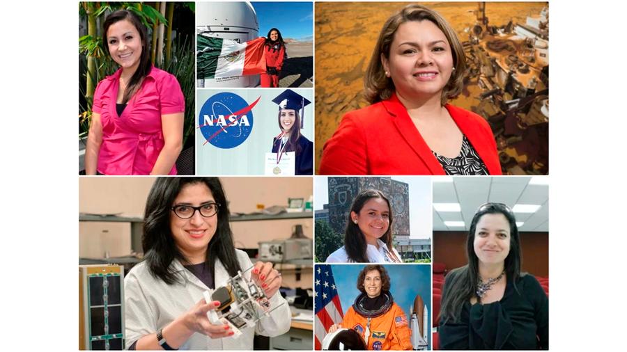Cinco historias de mexicanas que triunfan en la NASA
