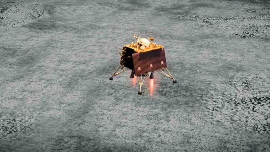 No hay rastro del aterrizador lunar indio tras un segundo sobrevuelo