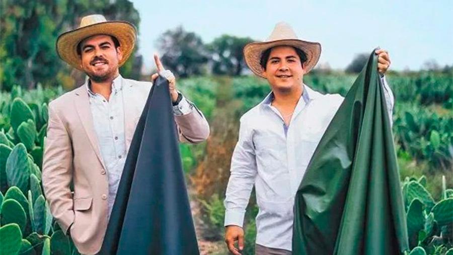 Piel de nopal, creación mexicana en la mira de la moda