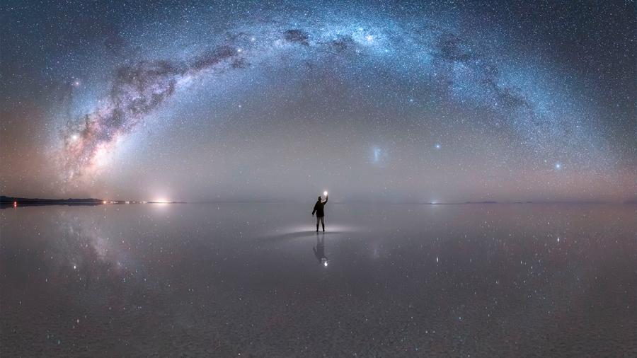 Astrofotógrafo peruano es reconocido por la NASA gracias a impresionante foto de la Vía Láctea