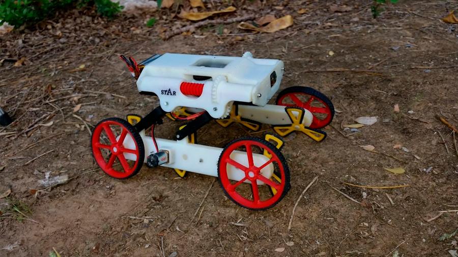 Novedoso robot para el rescate de personas