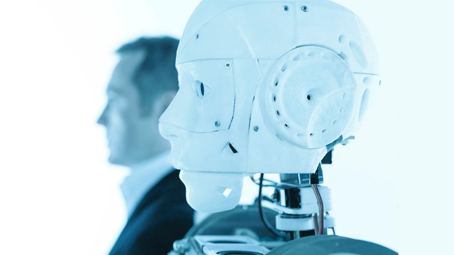 """Robot debate con humanos sobre IA y advierte que puede """"provocar mucho daño"""""""
