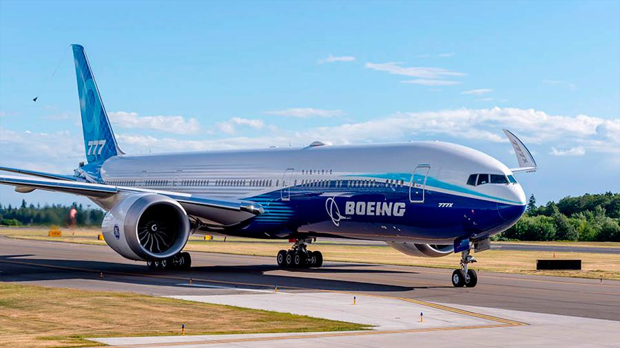 El futuro avión de pasajeros Boeing 777X se rompió durante las pruebas