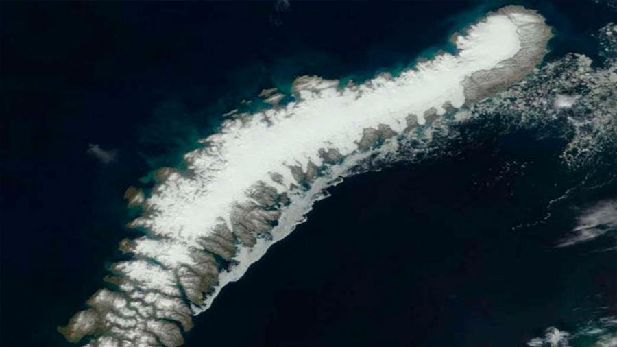 Detectan cinco islas desconocidas tras el derretimiento de glaciares en el Ártico