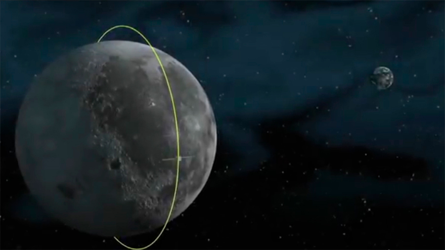 El rover chino Yutu-2 ha recorrido 318 metros en la cara oculta de la Luna