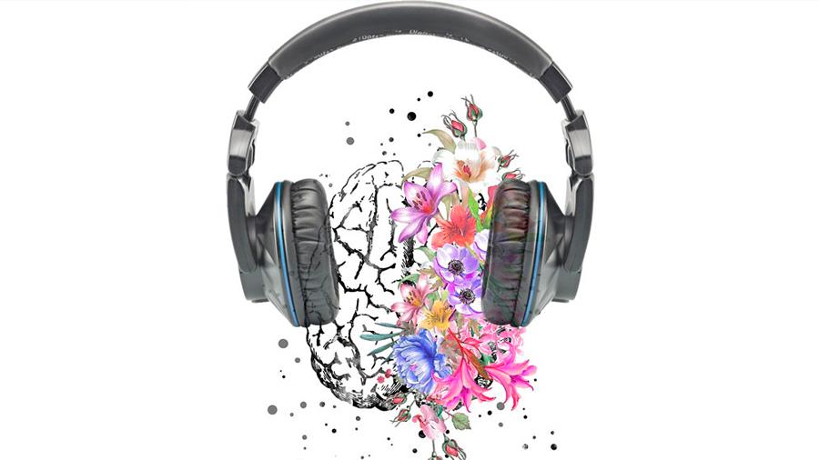 El cerebro se ilumina como un árbol de navidad cuando escuchamos música