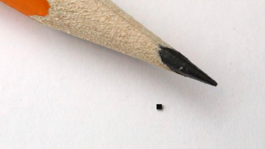 Crean el sensor de imagen más pequeño del mundo: mide lo que un grano de arena