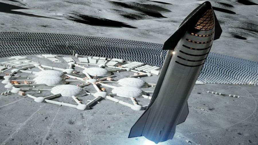SpaceX confirma que llegará a la Luna antes de 2022 y enviará turistas en 2024