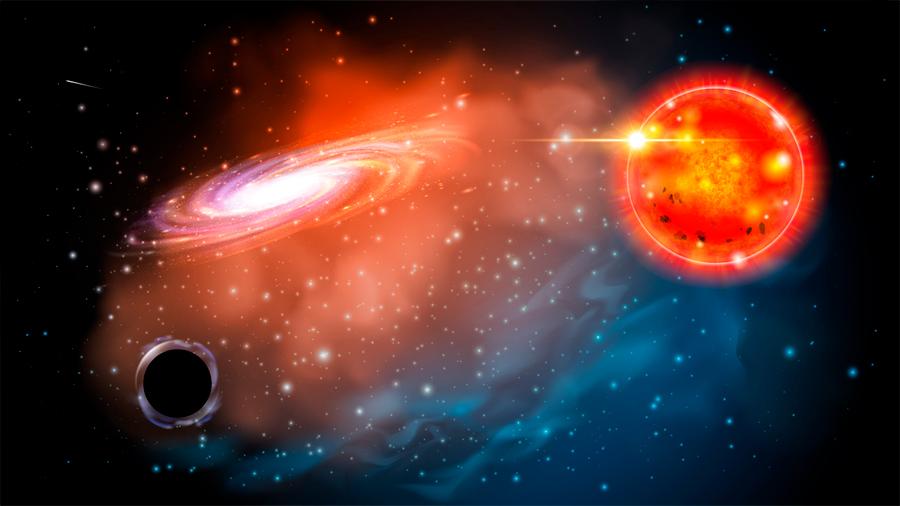 Descubren el agujero negro más pequeño del universo: 3.3 veces la masa del Sol
