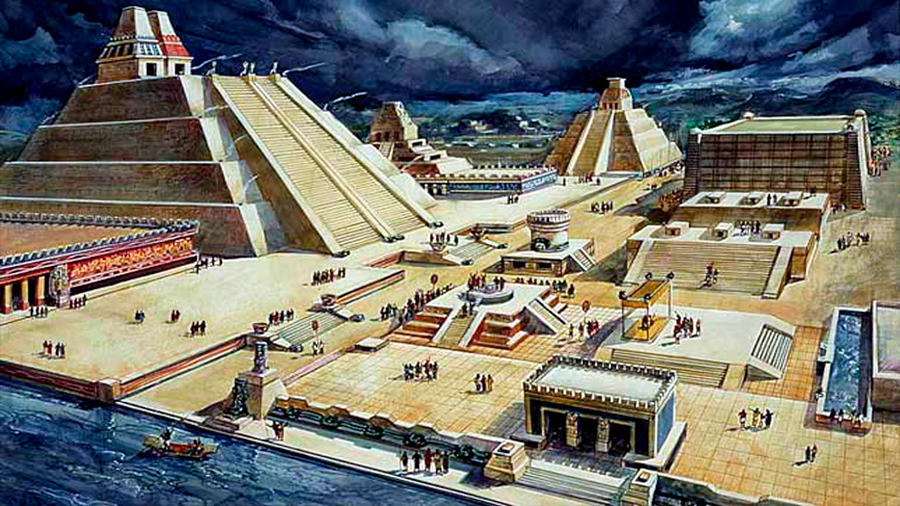 """Así era la gran Tenochtitlan, """"la Venecia del Nuevo Mundo"""" hace 500 años"""