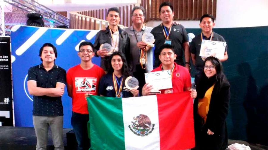 Estudiantes mexicanos arrasan con 7 medallas en RoboChallenge 2019