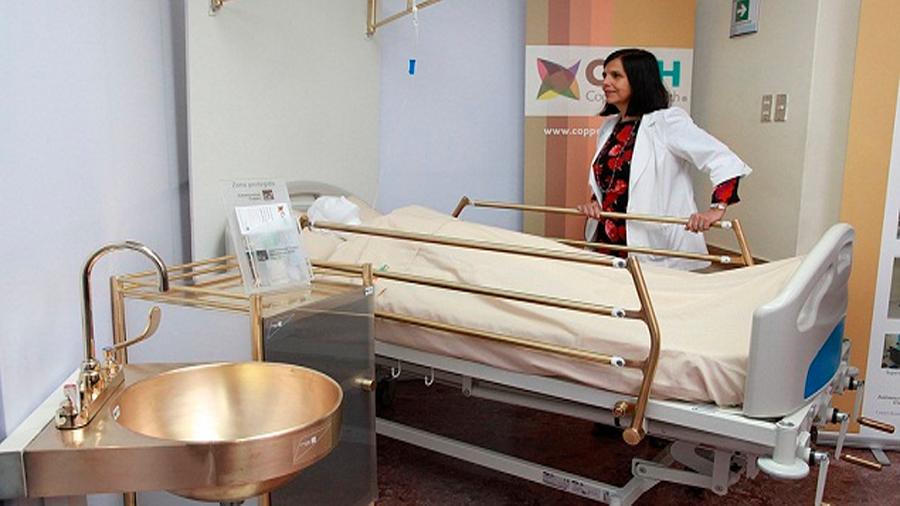 Las camas de cobre del hospital matan bacterias y salvan vidas