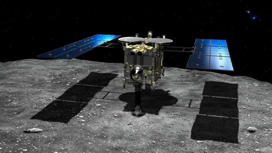 Hayabusa 2 emprende su regreso a la Tierra trayendo muestras del asteroide Ryugu
