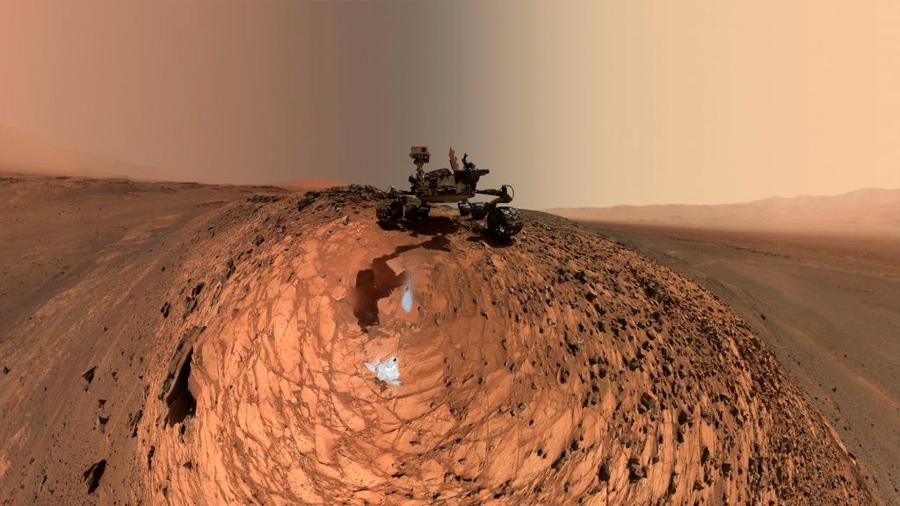 Impactantes niveles de oxígeno se han detectado en Marte