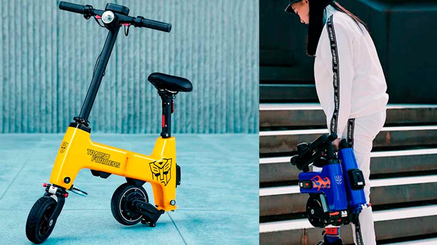 Entra en tu mochila: así es la nueva y revolucionara bicicleta plegable de Xiaomi
