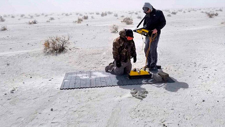 Técnicas de radar revelan huellas 'fantasma' del Pleistoceno