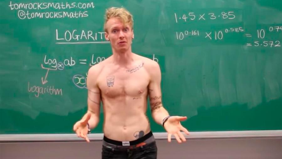 Profesor de Oxford que es capaz de desnudarse por enseñar matemáticas