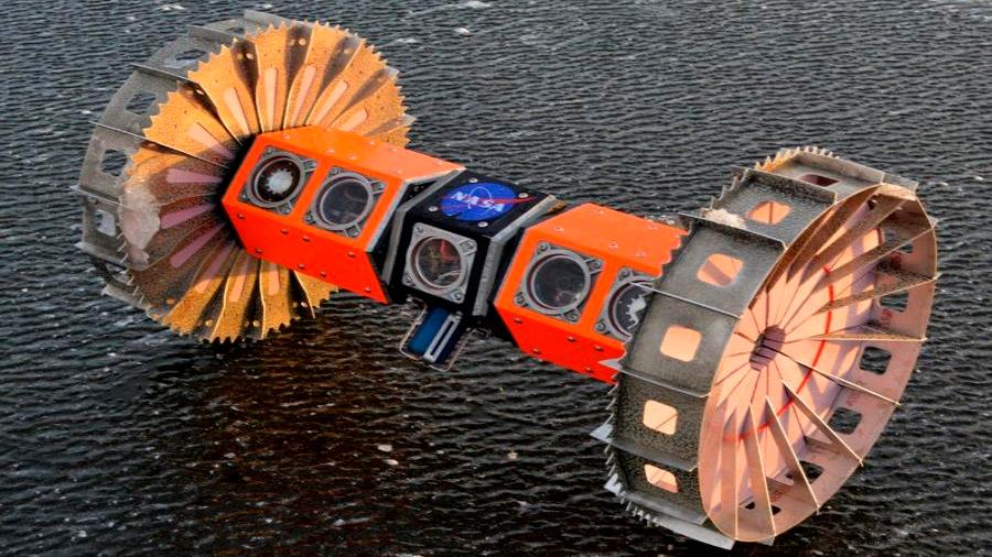 La NASA probará un robot en la Antártida con miras a buscar vida extraterrestre en Júpiter