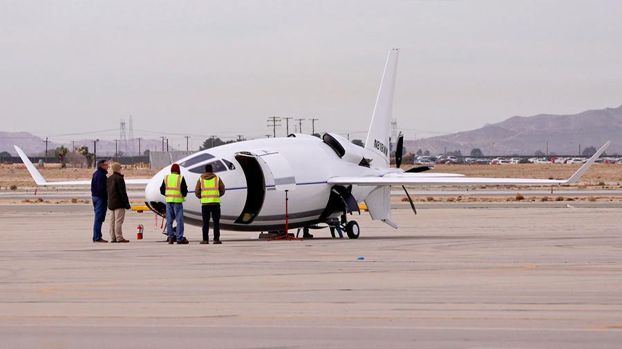 Celera 500L: el avión bala más secreto del mundo realizó su primer vuelo oficial