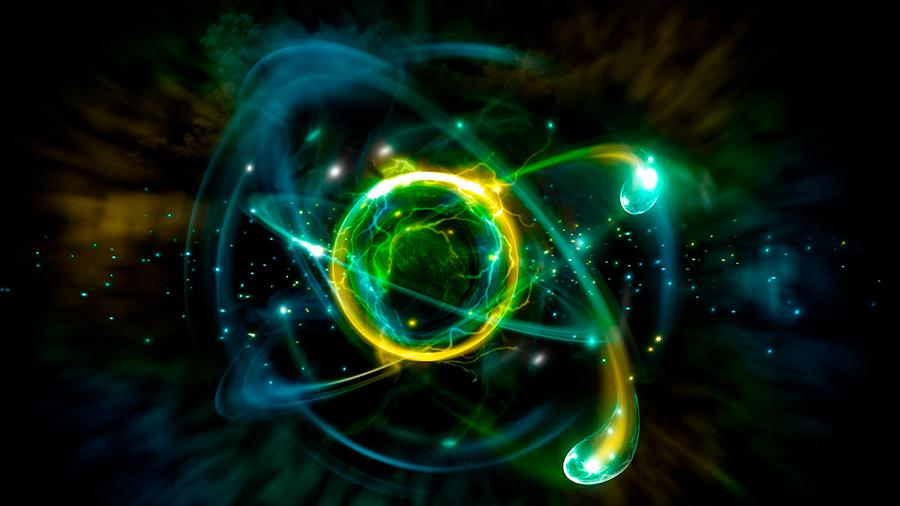 El átomo que se sintió electrón