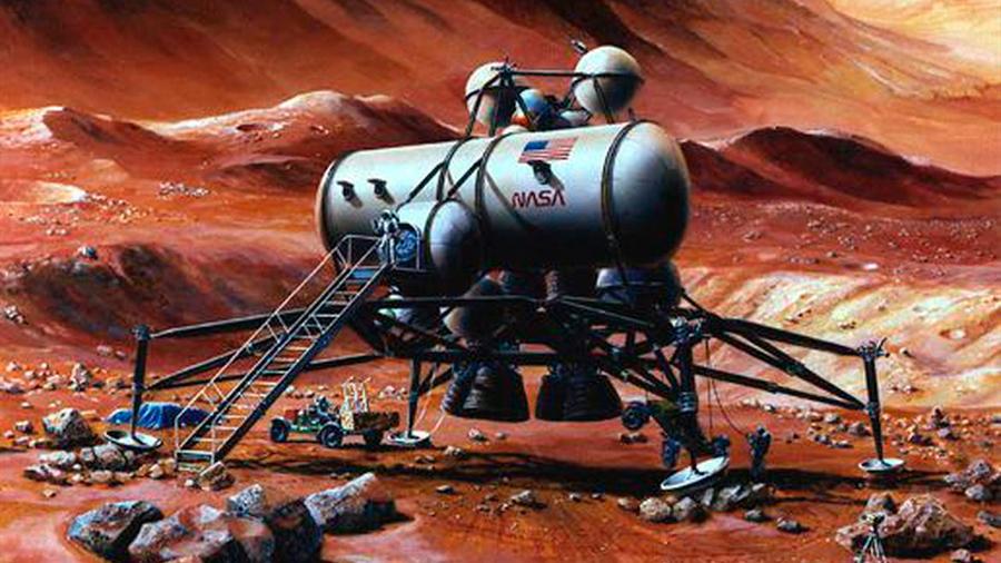 Una bacteria que produce hierro, pionera ideal para colonizar Marte