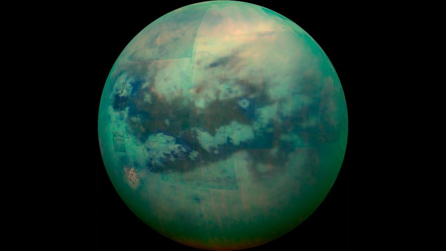 El primer mapa de Titán revela que es similar a la Tierra