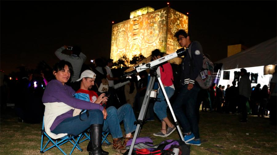 Este sábado se realizará en 110 sitios de Mexico la Noche de las Estrellas