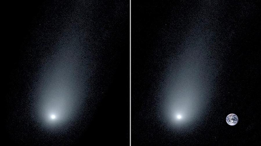 La Tierra empequeñece ante el cometa interestelar Borisov, que se ´acercará´ este diciembre