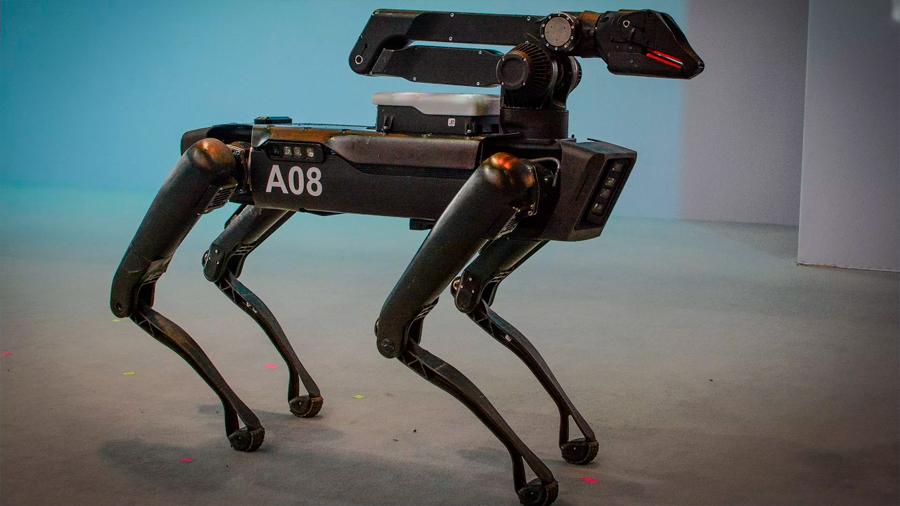 """Polémico uso de """"perros robot"""" por parte de la policía de Massachusetts"""