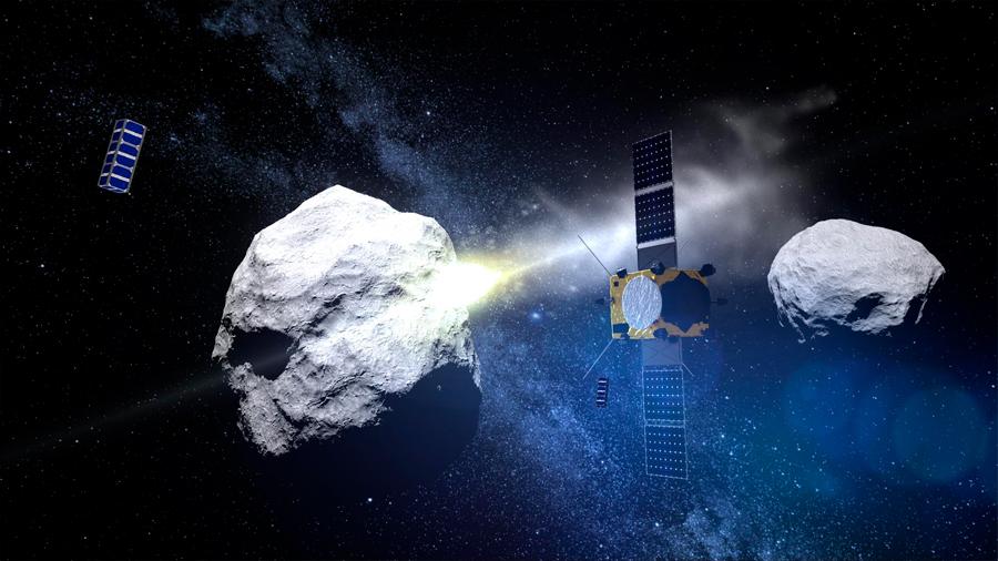 La Agencia Espacial Europea podría desviar asteroides de la Tierra