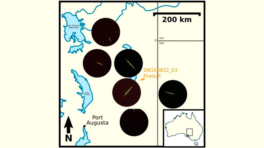Identifican a una lluvia de meteoros con origen en una miniluna terrestre