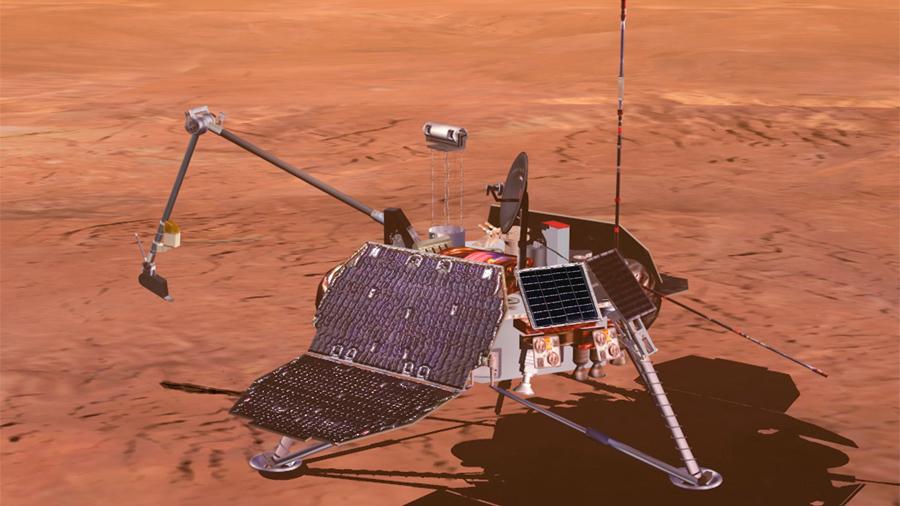 Se cumplen 20 años sin noticias de la sonda Mars Polar Lander, antes de su aterrizaje en Marte