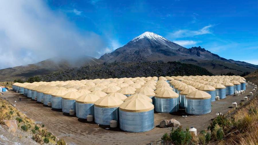 Observatorio Hawc, el vigilante de estallidos cósmicos en la ladera de un volcán mexicano
