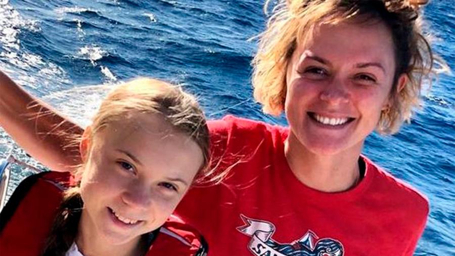 """Ayudé a Greta Thunberg a cruzar el Atlántico porque quería ver cómo era realmente"""