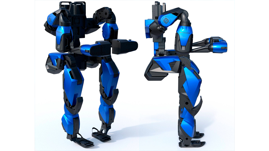 Potente exoesqueleto puede hacerte levantar 90 kilos esforzándote solo para 4