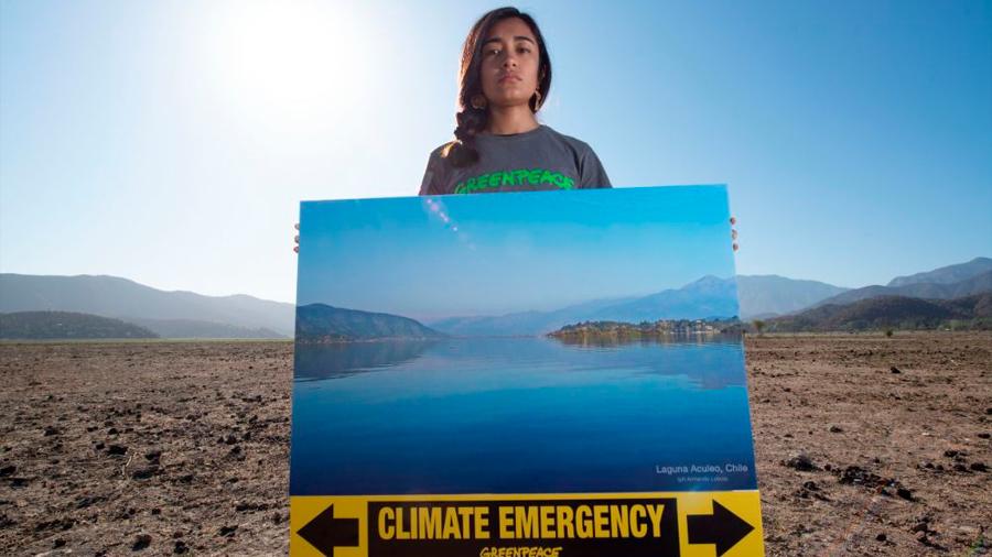 Antes y ahora: Así desapareció una laguna en Chile