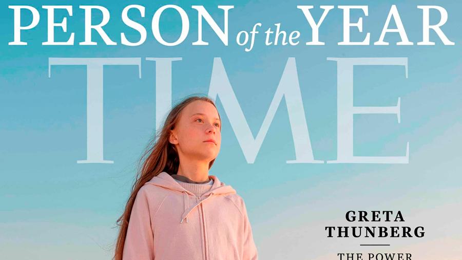 La revista 'Time' nombra 'persona del año' a Greta Thunberg