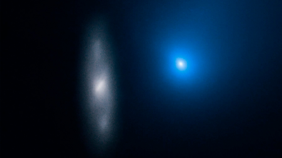 El primer cometa interestelar conocido ya se aleja del Sol