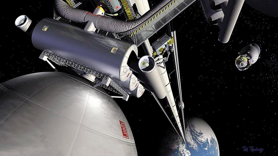 Por qué es tan difícil construir un ascensor para llegar al espacio
