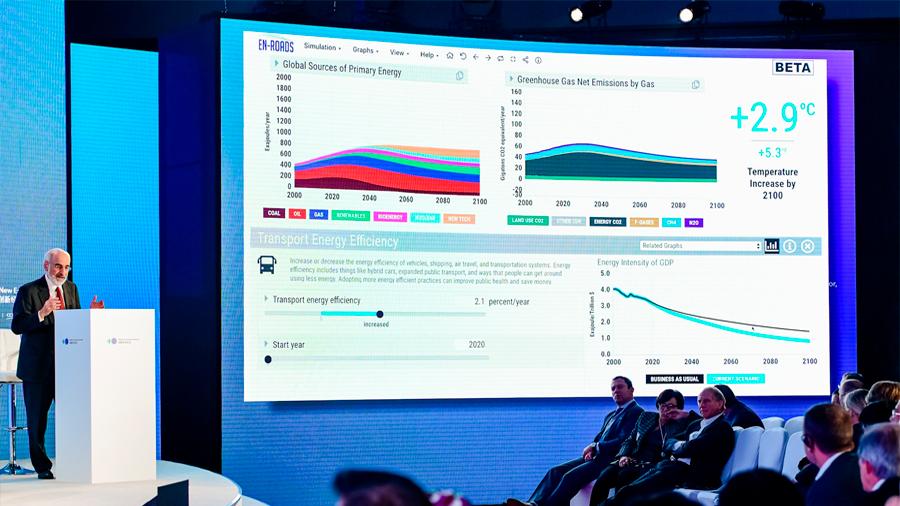 Crean simulador que muestra la estrategia ideal para terminar con el cambio climático
