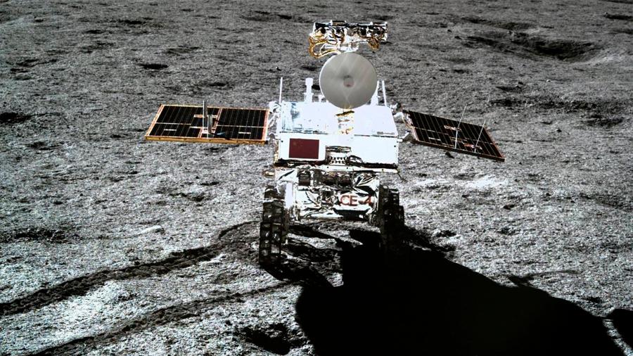 El rover chino Yutu 2 bate el récord de tiempo de trabajo en la Luna