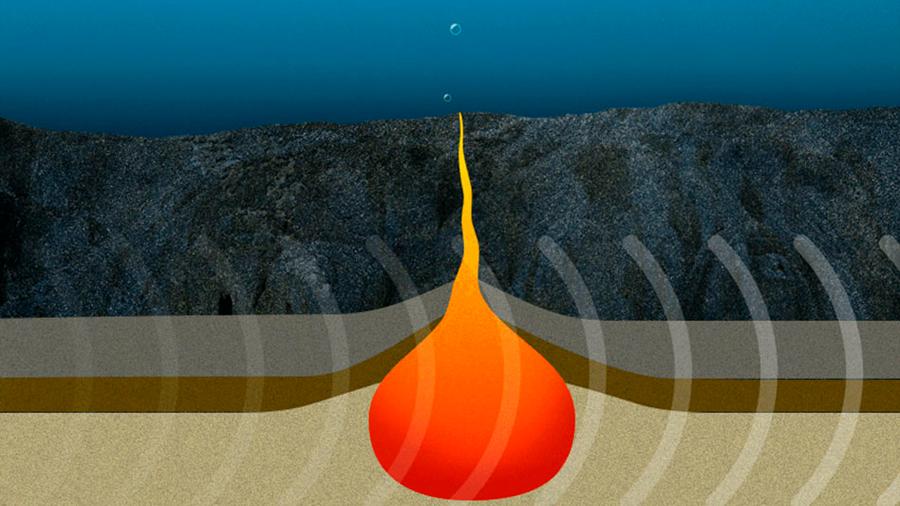 Posible, la existencia de agua en el manto profundo de la Tierra