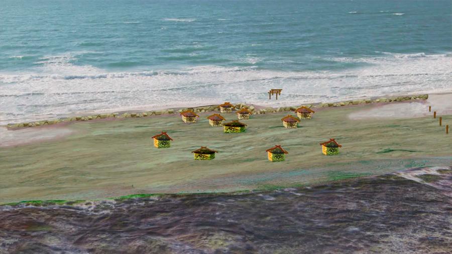 La tribu prehistórica que trató de construir un muro para frenar el aumento del nivel del mar (y fracasó)